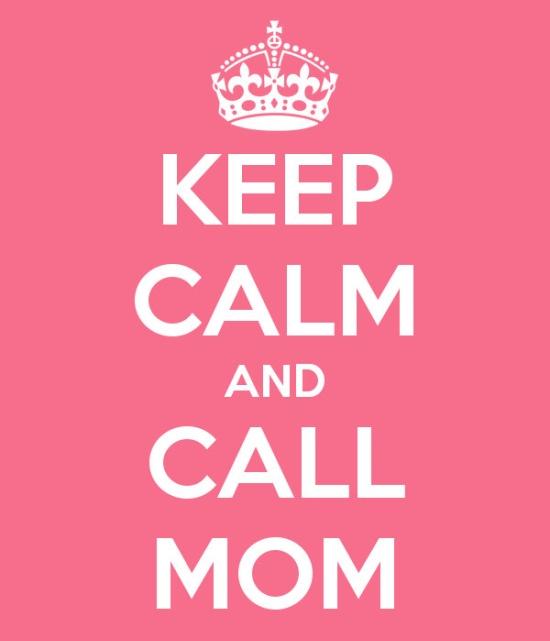 N'oubliez pas votre maman...