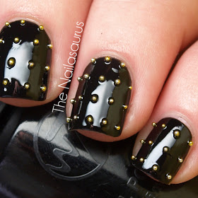 Source : http://www.thenailasaurus.com/2011/11/day-25-inspired-by-fashion.html?m=1