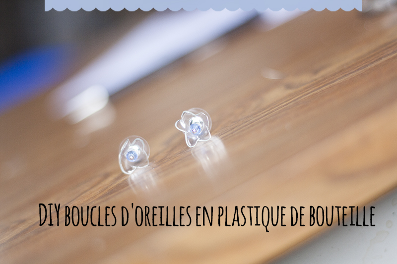 diy boucles d oreilles en plastique de bouteille recycl skyforged. Black Bedroom Furniture Sets. Home Design Ideas