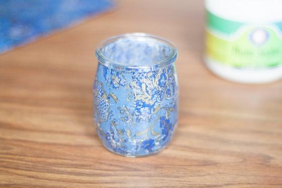 pot en verre décopatch 9