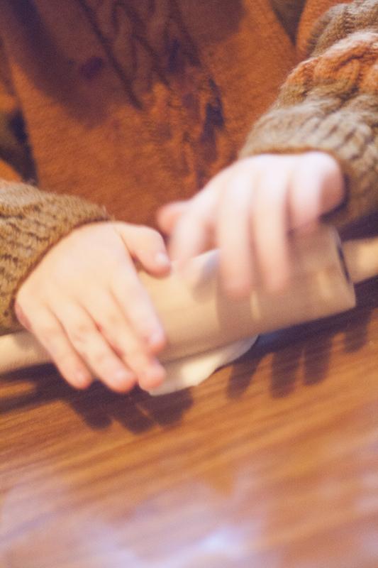 La main à lapâte.