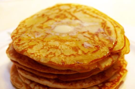 Oui, je sais, ce sont des pancakes.
